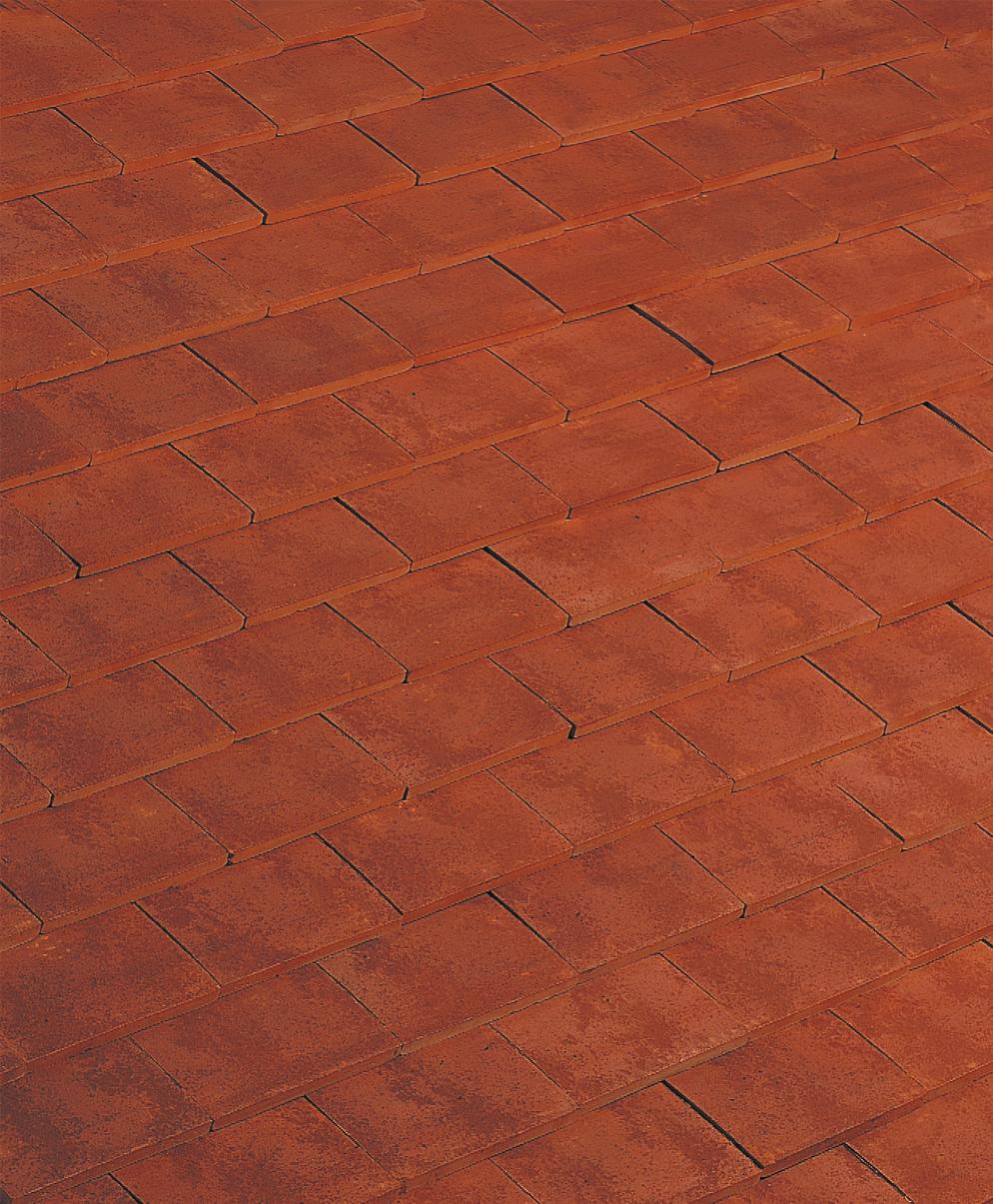 Imerys Phalempin Plain Clay Tile